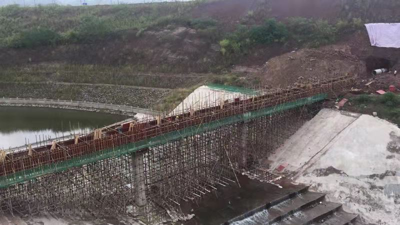 重慶果園港污水處理廠截污干管C干管工程一期及福宏大道(跨朝陽溪段)污水管網接入截污干管工程