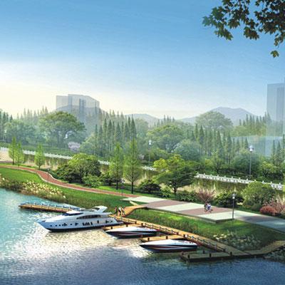 仙游兰溪河道景观工程